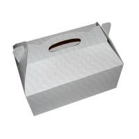 Poročna škatla za pecivo - zlati listki