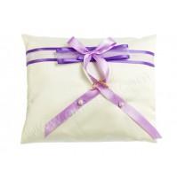 Poročna blazinica-lila-vijola/kvadrat