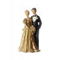 Poročna figura  - ženin in nevesta/zlata poroka