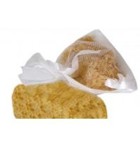Poročna vrečka za riž - bela