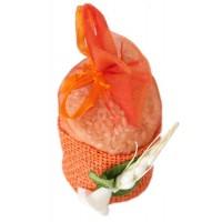 Poročni mošnjiček za riž - oranžen