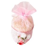 Poročni mošnjiček za riž - roza