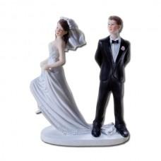 Poročna figura - smešen par 09