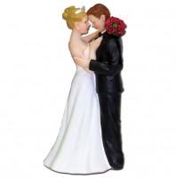 Poročna figura - ženin in nevesta 01