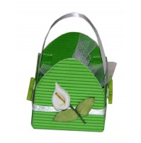 Poročni konfet - zelen