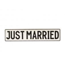 Tablica - JUST MARRIED